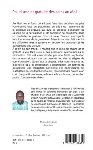 4eme Paludisme et gratuité des soins au Mali