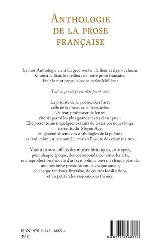 4eme Anthologie de la prose française