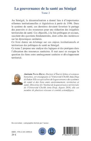4eme La gouvernance de la santé au Sénégal (tome 2)