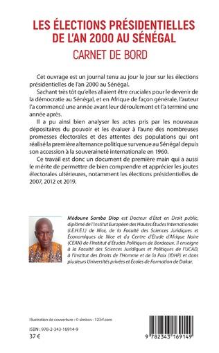 4eme Les élections présidentielles de l'an 2000 au Sénégal