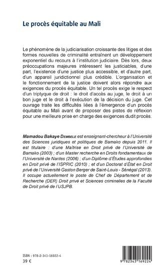 4eme Le procès équitable au Mali