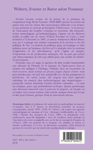 4eme Webern, Fourier et Butor selon Pousseur