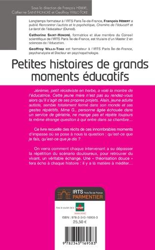 4eme Petites histoires de grands moments éducatifs