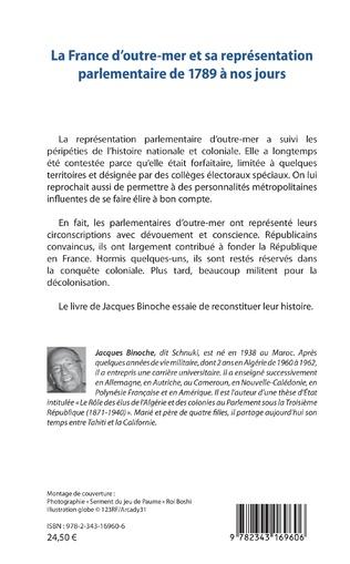 4eme La France d'outre-mer et sa représentation parlementaire de 1789 à nos jours