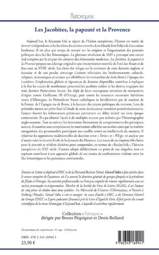 4eme Les Jacobites, la papauté et la Provence