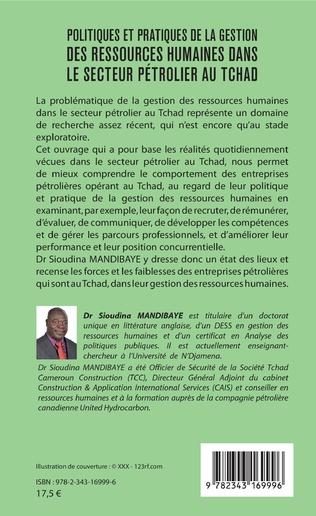 4eme Politiques et pratiques de la gestion des ressources humaines dans le secteur pétrolier au Tchad