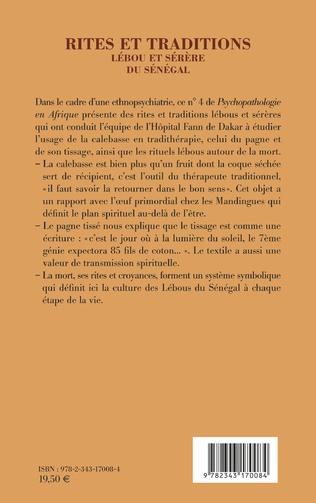 4eme Rites et traditions Lébou et Sérère du Sénégal