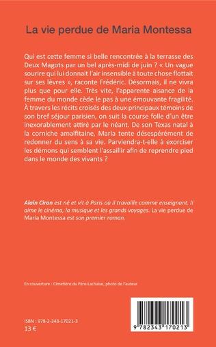 4eme La Vie perdue de Maria Montessa