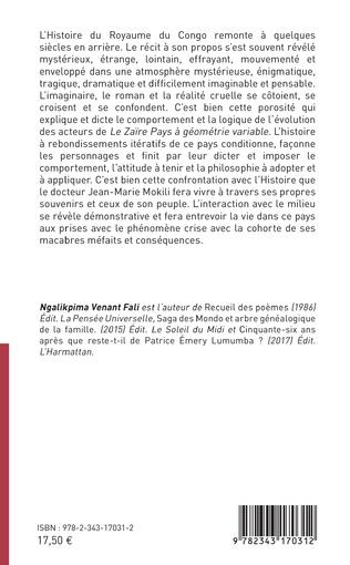 4eme Le Zaïre, pays à géométrie variable