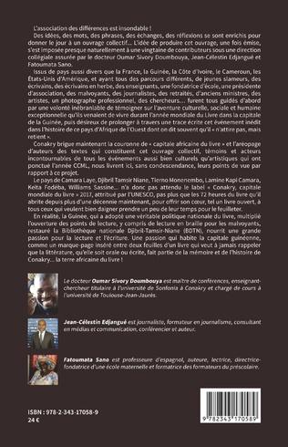 4eme Conakry terre africaine du livre