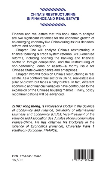 4eme China's restructuring in finance and real estate