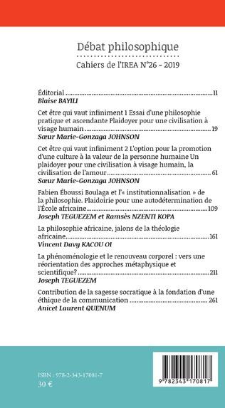 4eme Débat Philosophique