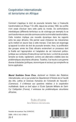 4eme Coopération internationale et terrorisme en Afrique