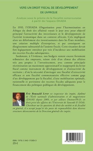 4eme Vers un droit fiscal de développement de l'Afrique