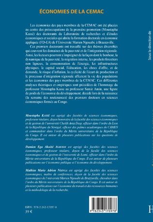 4eme Economies de la CEMAC