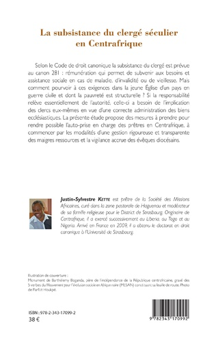 4eme La subsistance du clergé séculier en Centrafrique