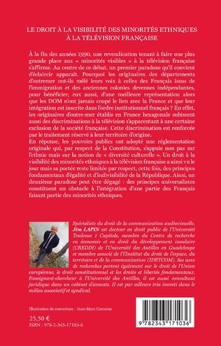 4eme Le droit à la visibilité des minorités ethniques à la télévision française