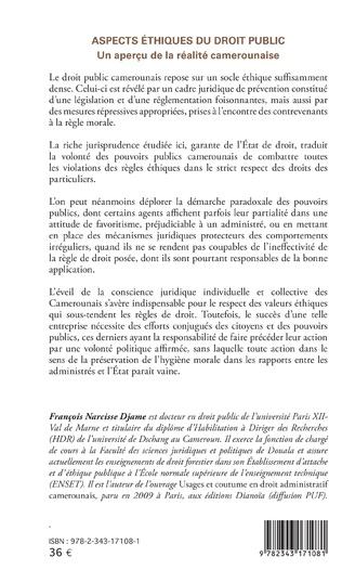 4eme Aspects éthiques du droit public