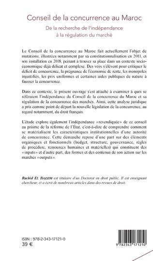 4eme Conseil de la concurrence au Maroc