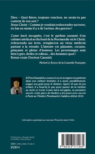 4eme Come back incognito