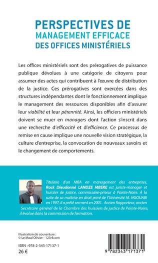 4eme Perspectives de management efficace des offices ministériels