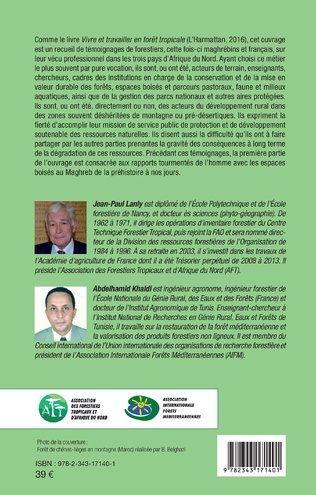 4eme Vivre et travailler en forêt au Maghreb