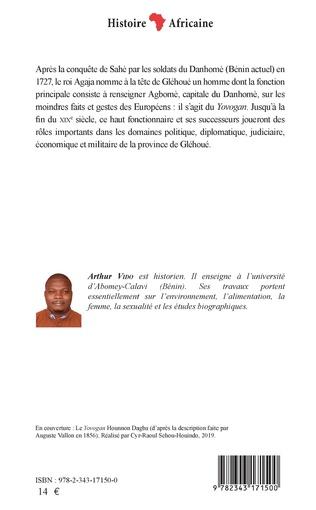 4eme Le Yovogan. Un haut dignitaire du royaume du Danhomè