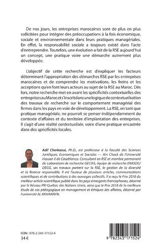 4eme La responsabilité sociétale des entreprises au Maroc