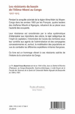 4eme Les résistants du bassin de l'Alima-Nkeni au Congo