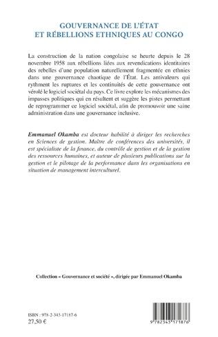 4eme Gouvernance de l'Etat et rébellions ethniques au Congo