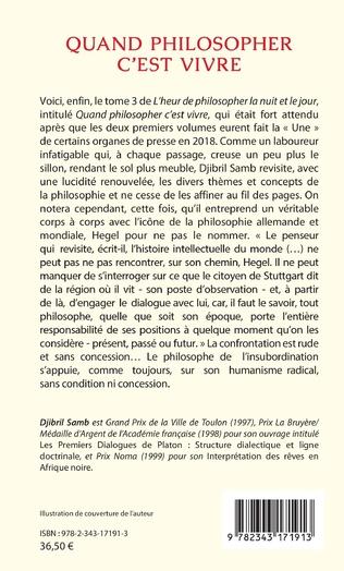 4eme L'heur de philosopher la nuit et le jour (2017)