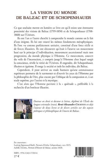 4eme La vision du monde de Balzac et de Schopenhauer