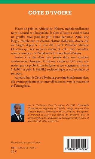 4eme Côte d'Ivoire Alassane Ouattara ou la renaissance pour un développement durable