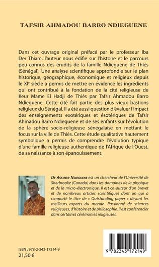 4eme Tafsir Ahmadou Barro Ndieguene
