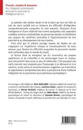 4eme Travail, emploi & douance