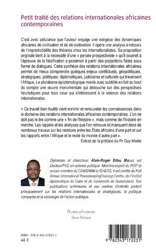 4eme Petit traité des relations internationales africaines contemporaines