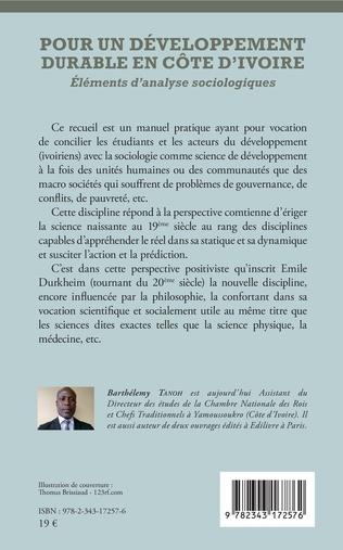 4eme Pour un développement durable en Côte d'Ivoire