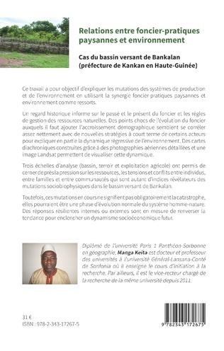 4eme Relations entre foncier-pratiques paysannes et environnement