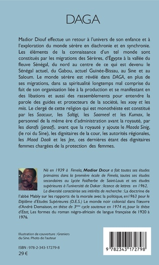 4eme Daga Textes sur la culture serere