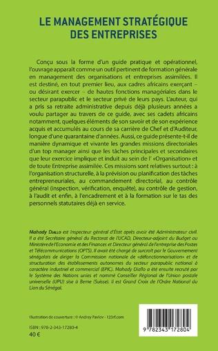 4eme Le management stratégique des entreprises