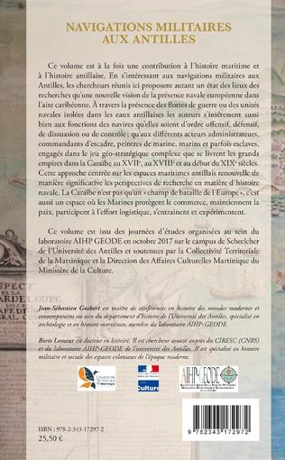 4eme Navigations militaires aux Antilles (1620-1820)