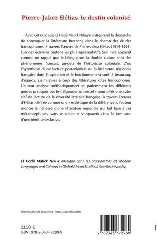 4eme Pierre-Jakez Hélias, le destin colonisé