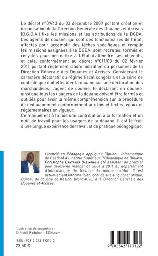 4eme Le dédouanement informatisé en République Démocratique du Congo