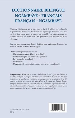 4eme Dictionnaire bilingue ngàmbáye - français français -  ngàmbáye