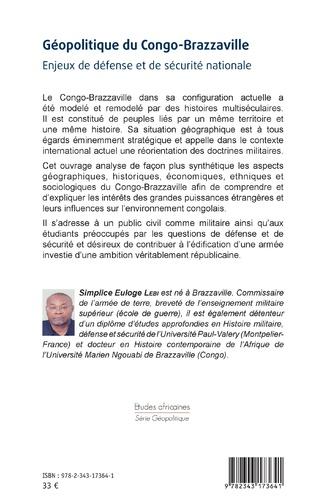 4eme Géopolitique du Congo-Brazzaville