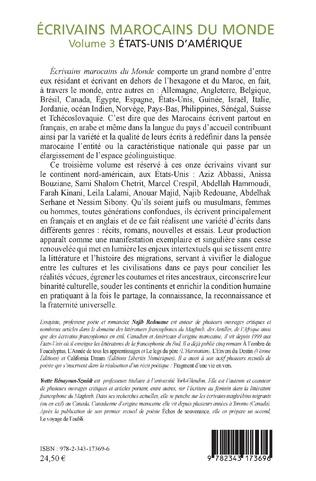 4eme Ecrivains marocains du monde
