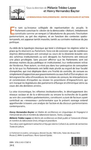 4eme Le renouveau parlementaire : entre discours et action