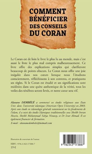 4eme Comment bénéficier des conseils du Coran