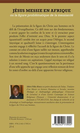 4eme Jésus messie en Afrique ou la figure problématique de la messianité