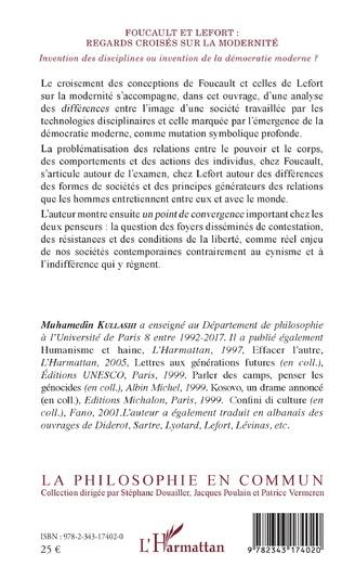 4eme Foucault et Lefort